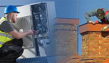 Ремонт систем вентиляции и дымоходов, пусконаладочные работы