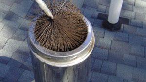 Все о чистке стальных дымоходов